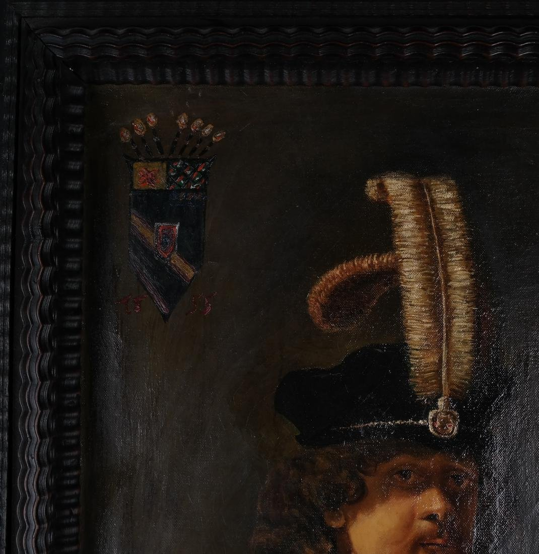 Rembrandt Copy by Russian Artist - 3