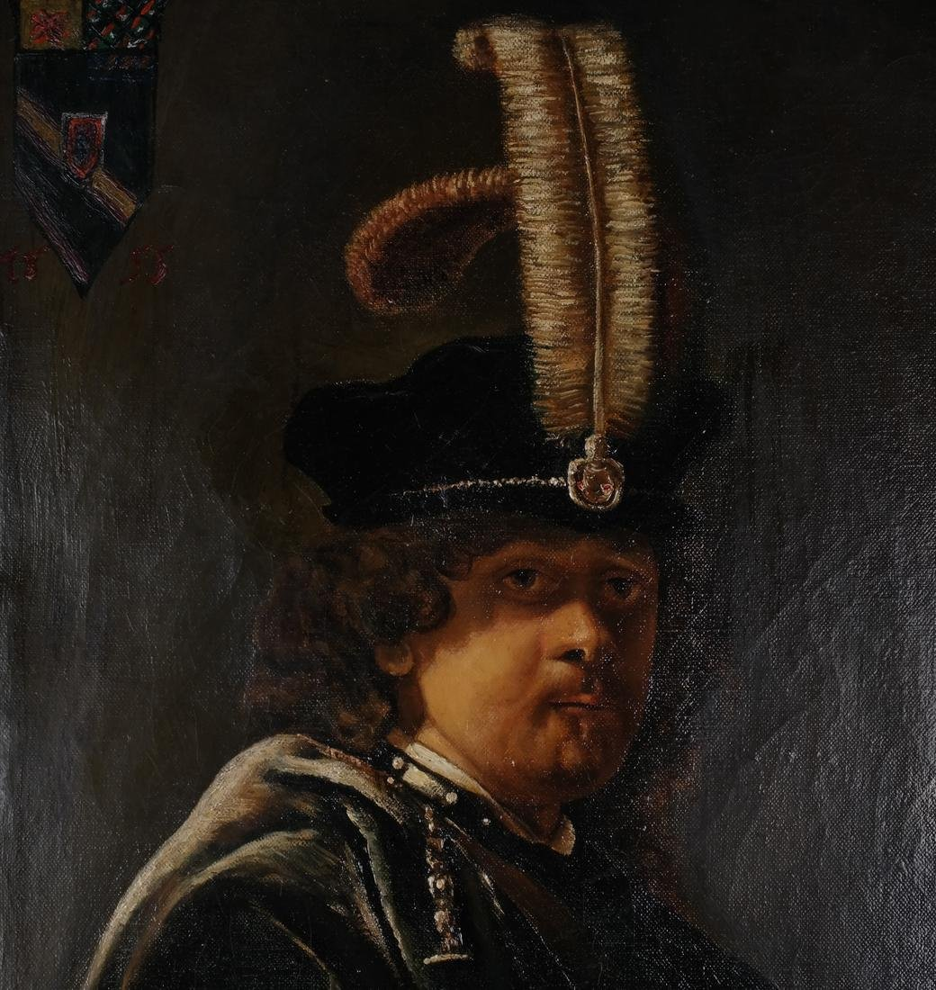 Rembrandt Copy by Russian Artist - 4