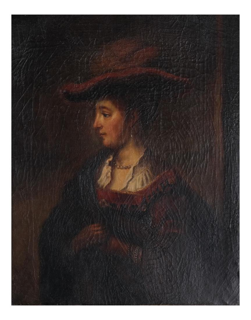 Beckwith: Portrait of Woman, O/C