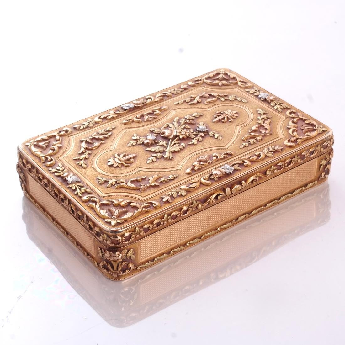 French Varicolor Gold Box