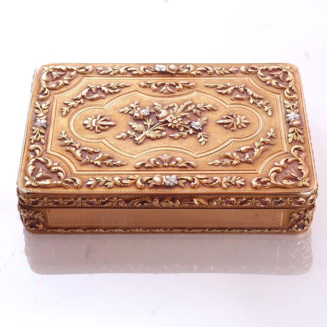 French Varicolor Gold Box - 2