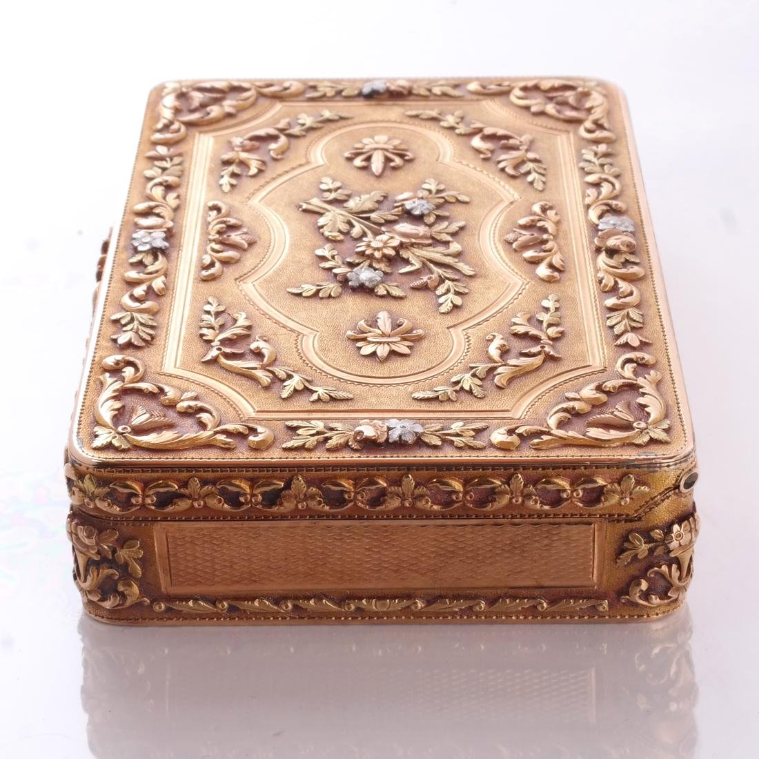 French Varicolor Gold Box - 6