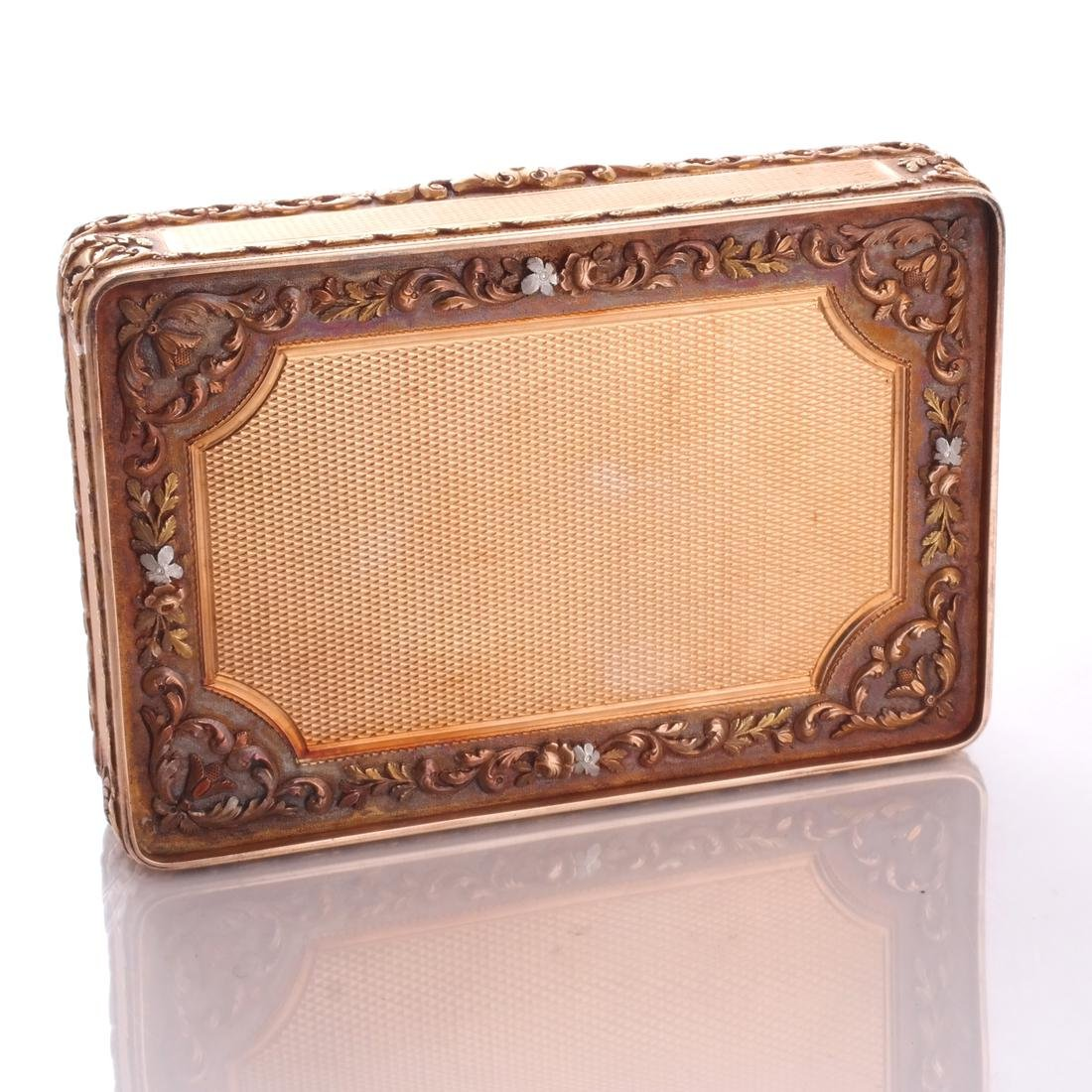 French Varicolor Gold Box - 7