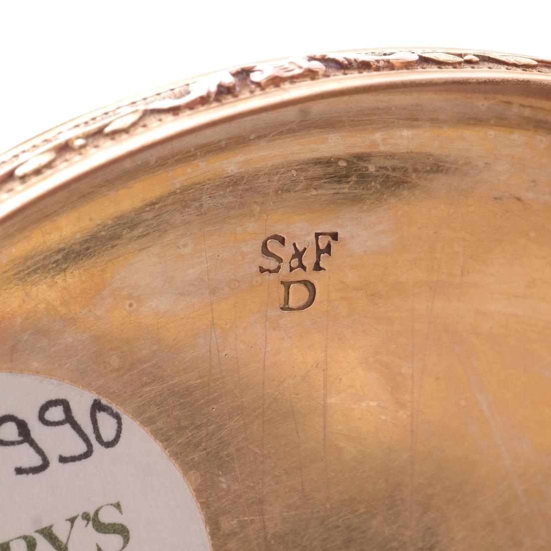 Swiss 18k Gold Snuff Box, 19th C. - 3
