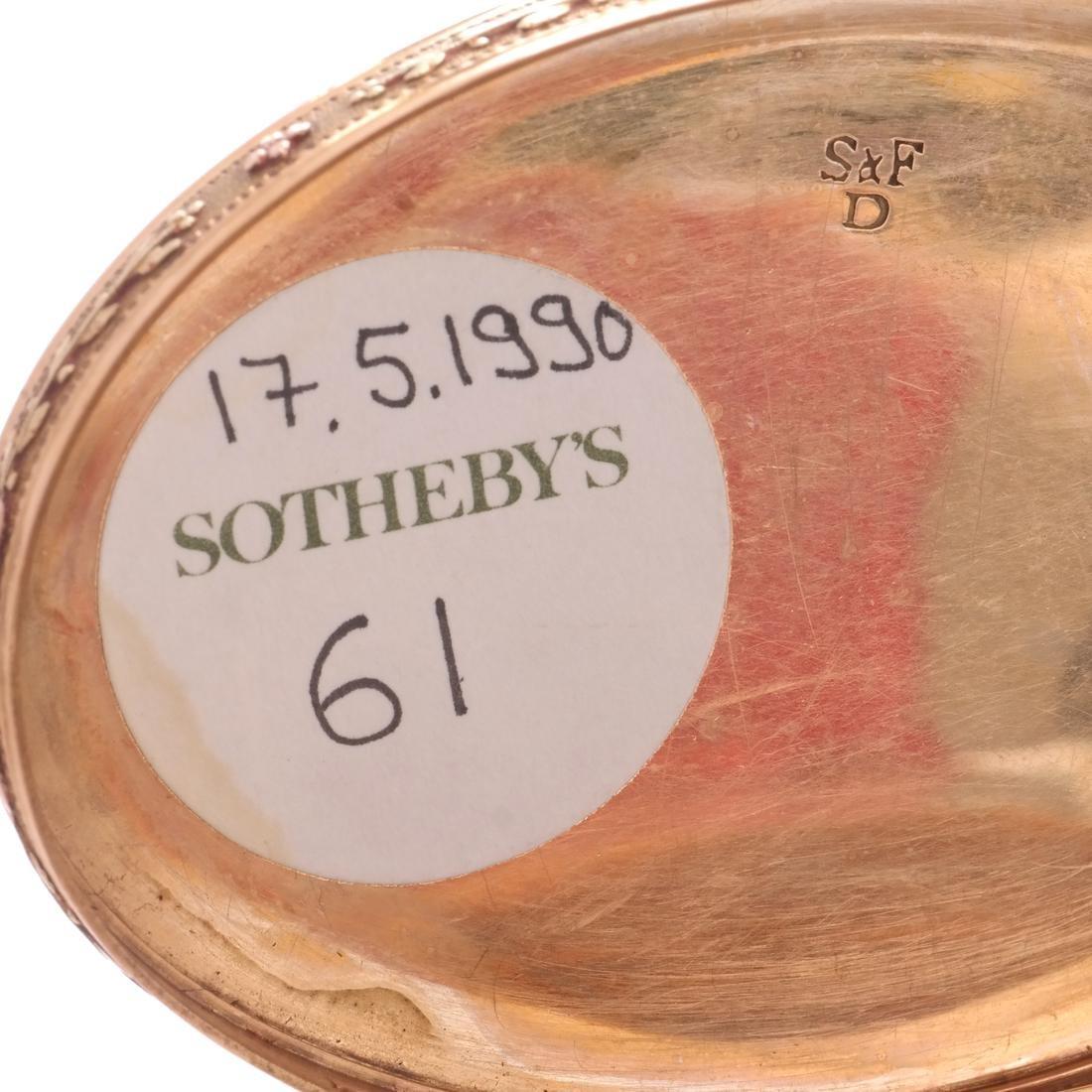 Swiss 18k Gold Snuff Box, 19th C. - 4
