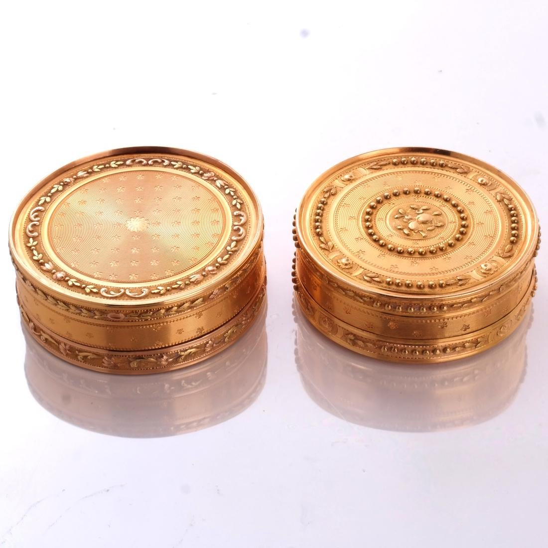 Two 18k Gold Boxes - 2