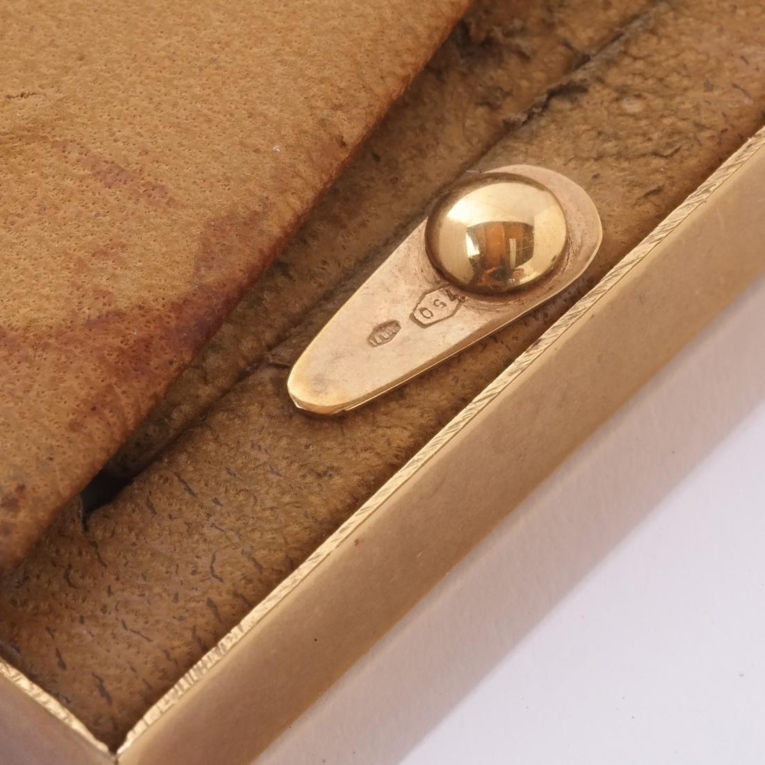 Cartier 18k Gold & Enamel Frame - 5