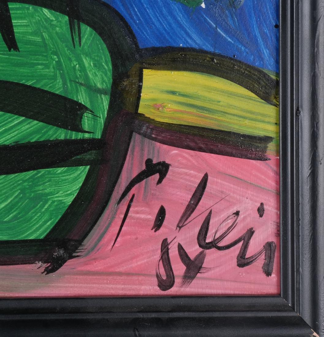 Peter Keil: Floral Still Life, Oil/Board - 3
