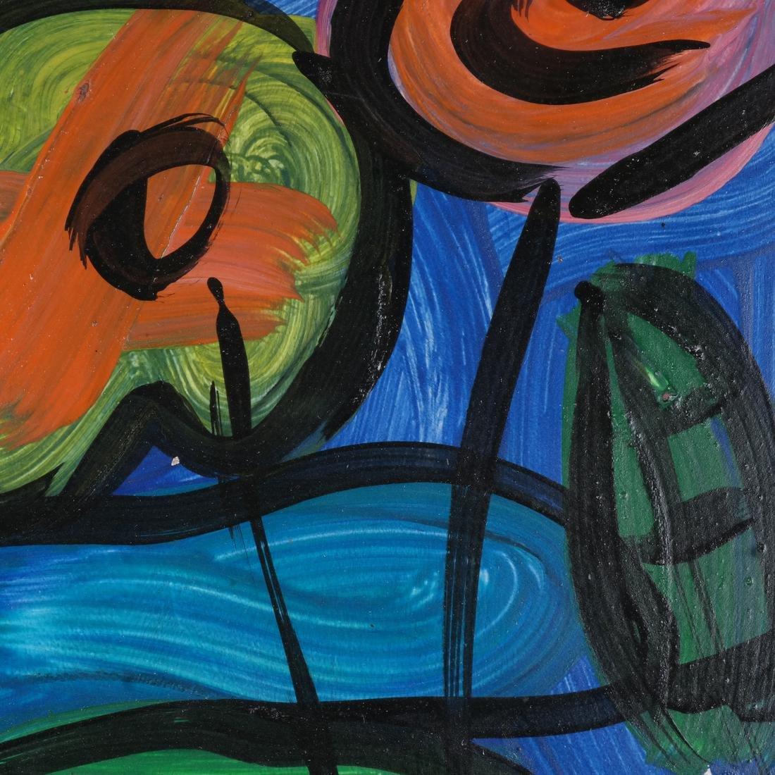 Peter Keil: Floral Still Life, Oil/Board - 4
