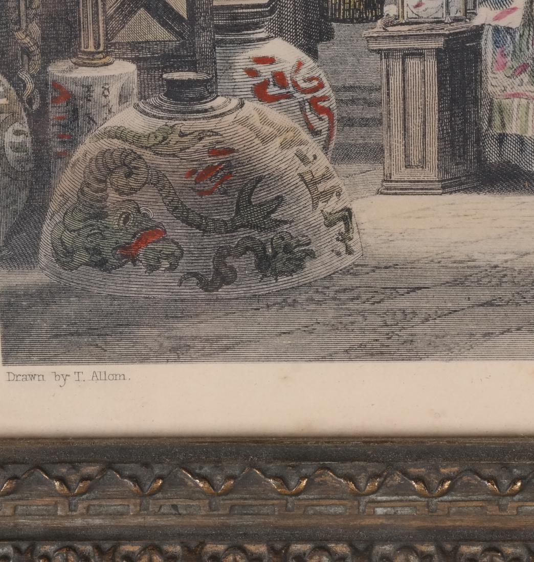 English Prints, Chinese Interior, Figures - 10
