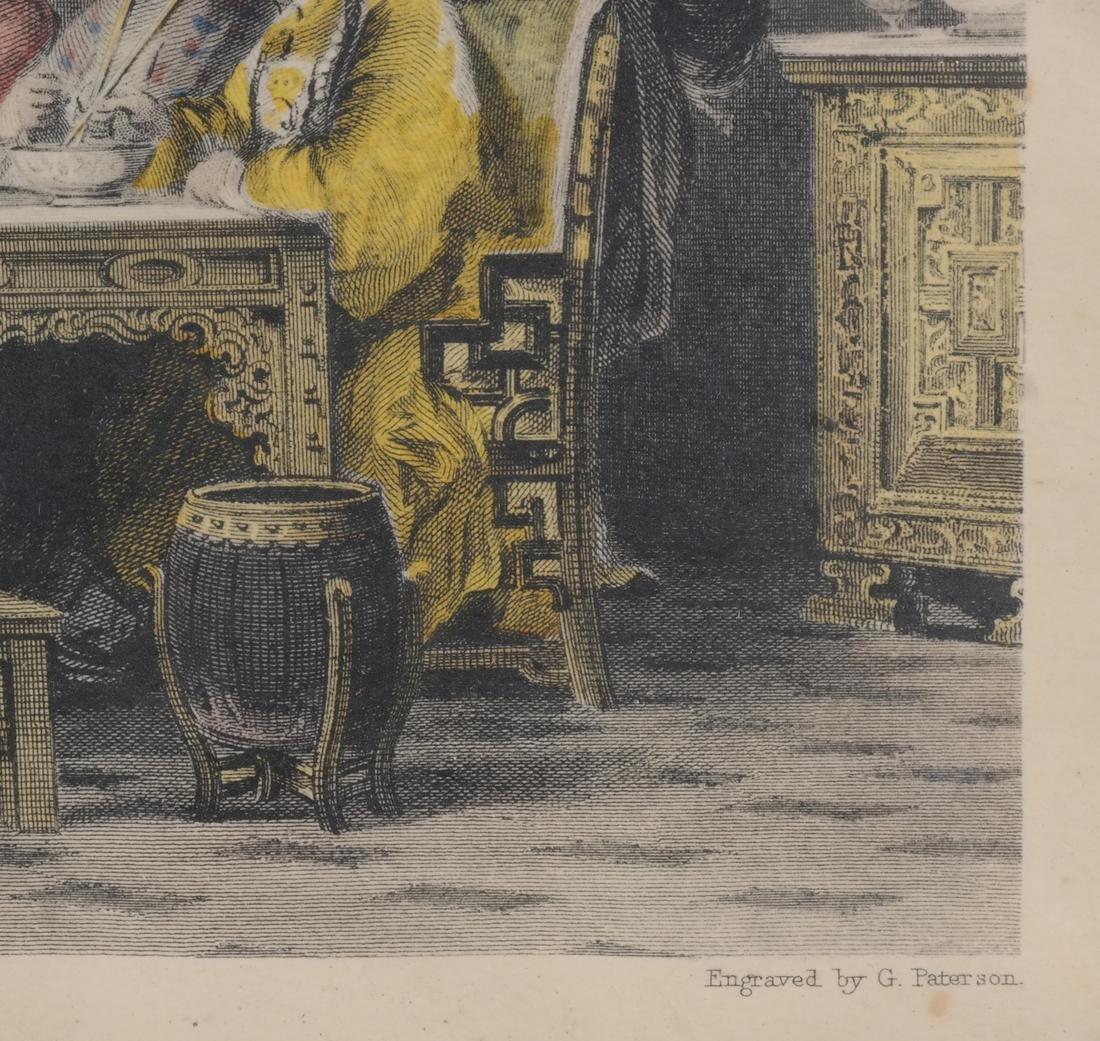 English Prints, Chinese Interior, Figures - 4