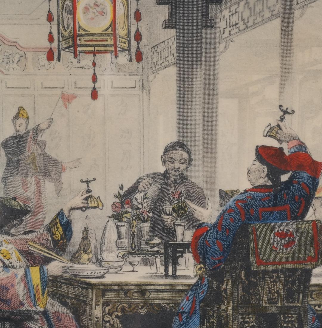 English Prints, Chinese Interior, Figures - 5