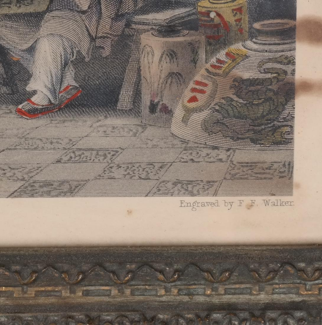 English Prints, Chinese Interior, Figures - 9