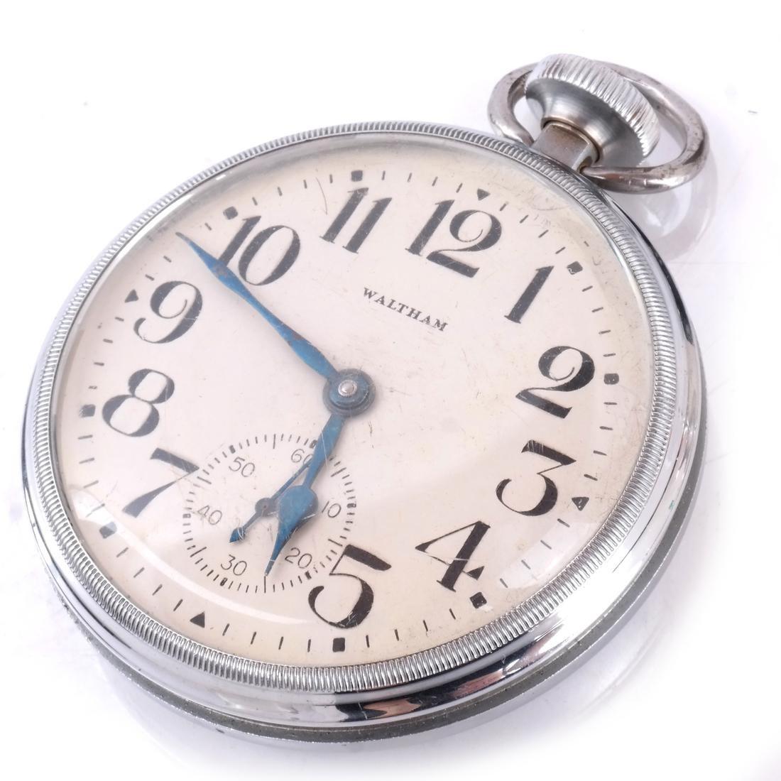 Waltham 8-Day Pocket Watch