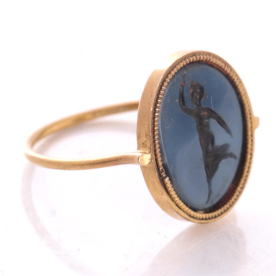 Roman 19th C. Intaglio Ring, and Another - 3