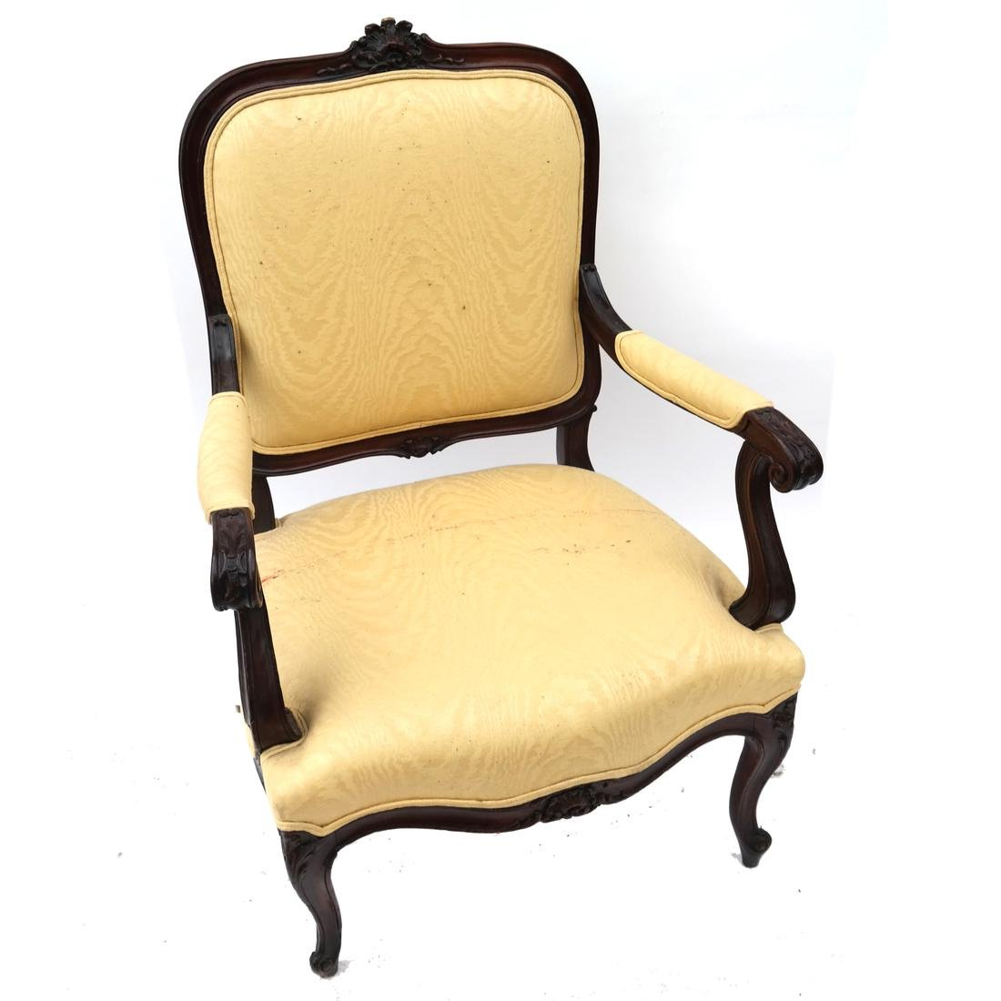 Pair German Open Armchairs 18th -19th Century - 2