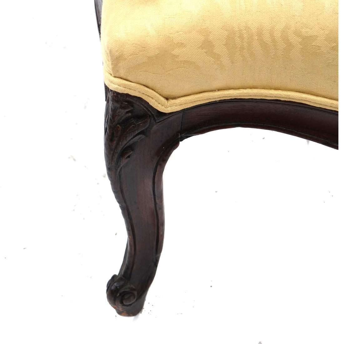 Pair German Open Armchairs 18th -19th Century - 5