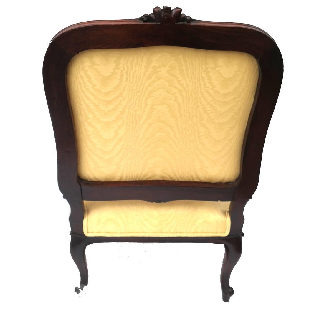 Pair German Open Armchairs 18th -19th Century - 6