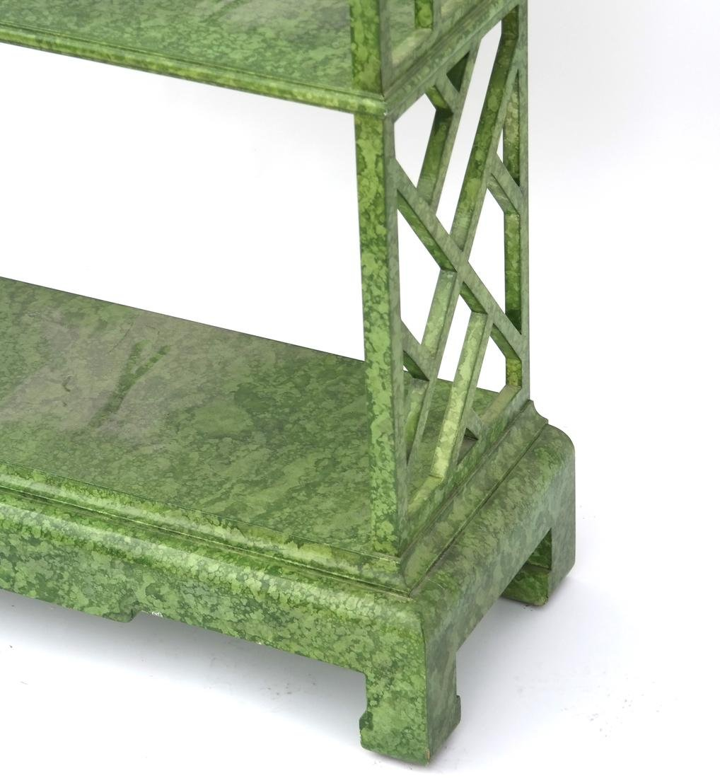 Asian Decorated Pagoda-Top Etagere - 3