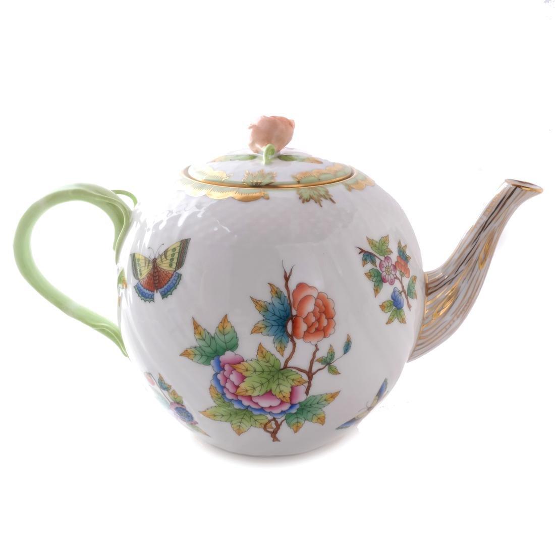 Five Herend Porcelain Tea Articles - 2