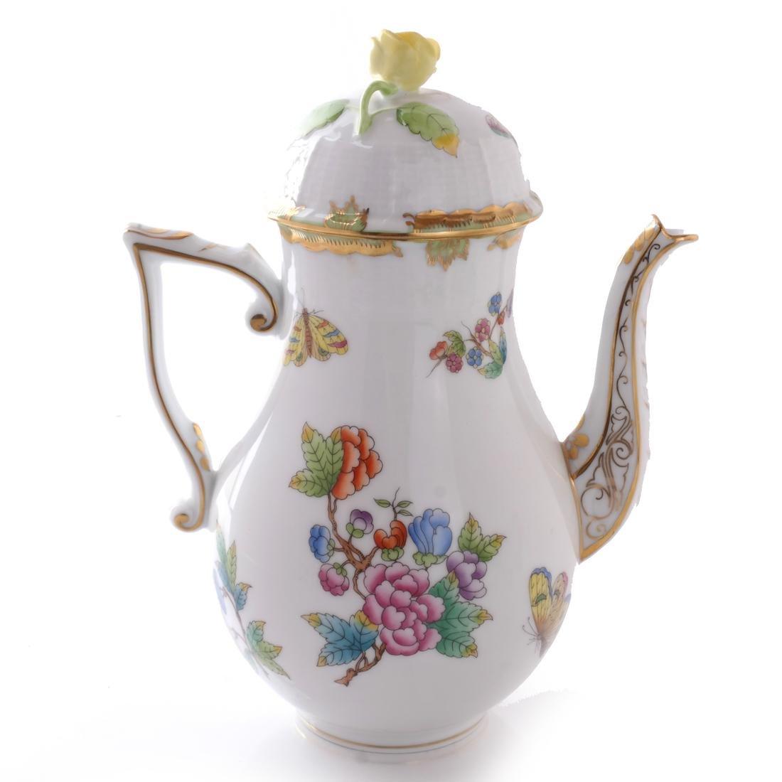 Five Herend Porcelain Tea Articles - 4