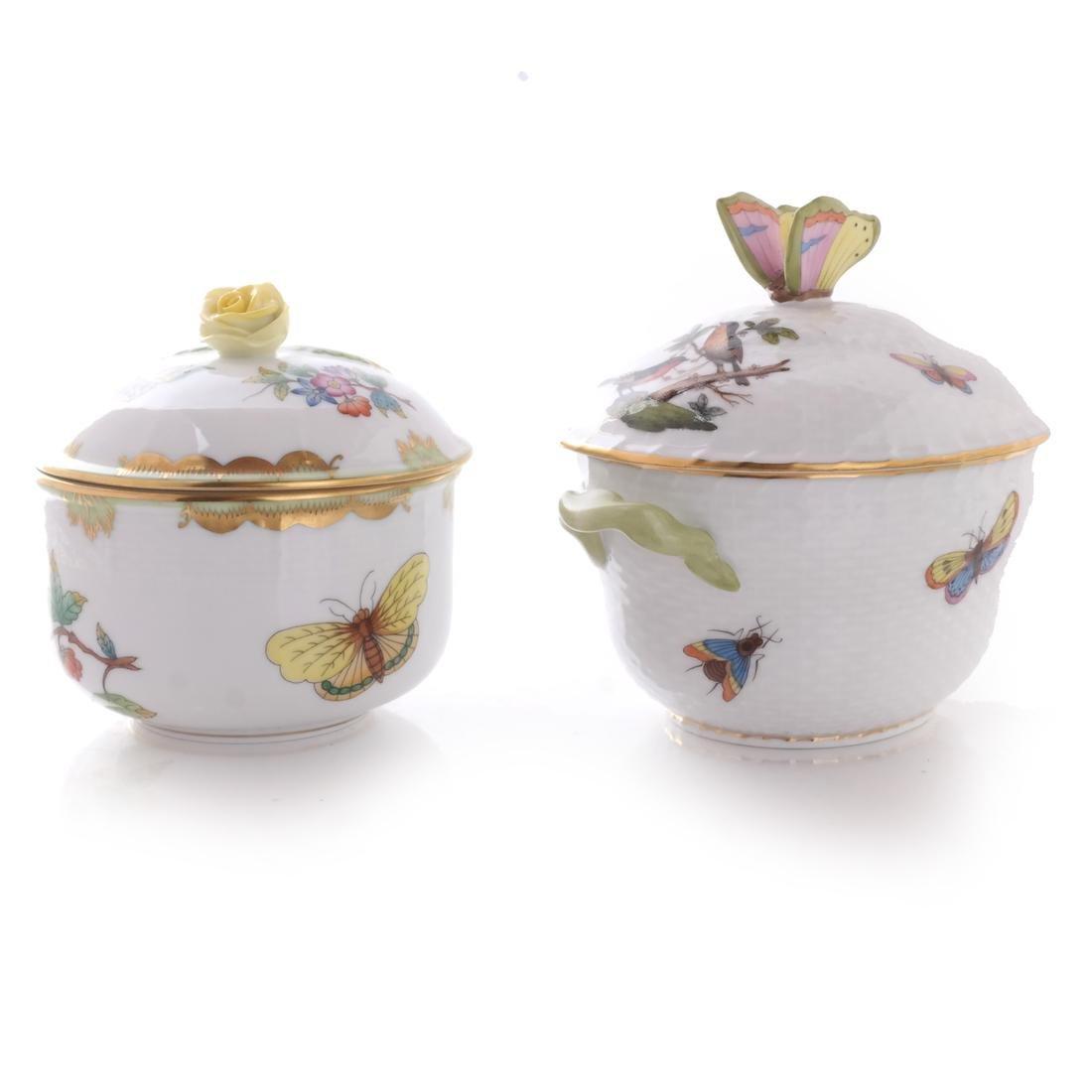 Five Herend Porcelain Tea Articles - 7