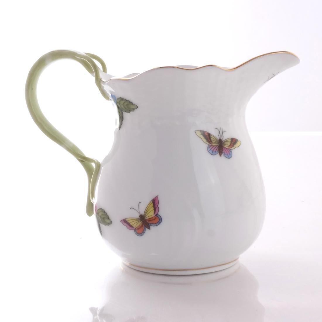 Five Herend Porcelain Tea Articles - 8