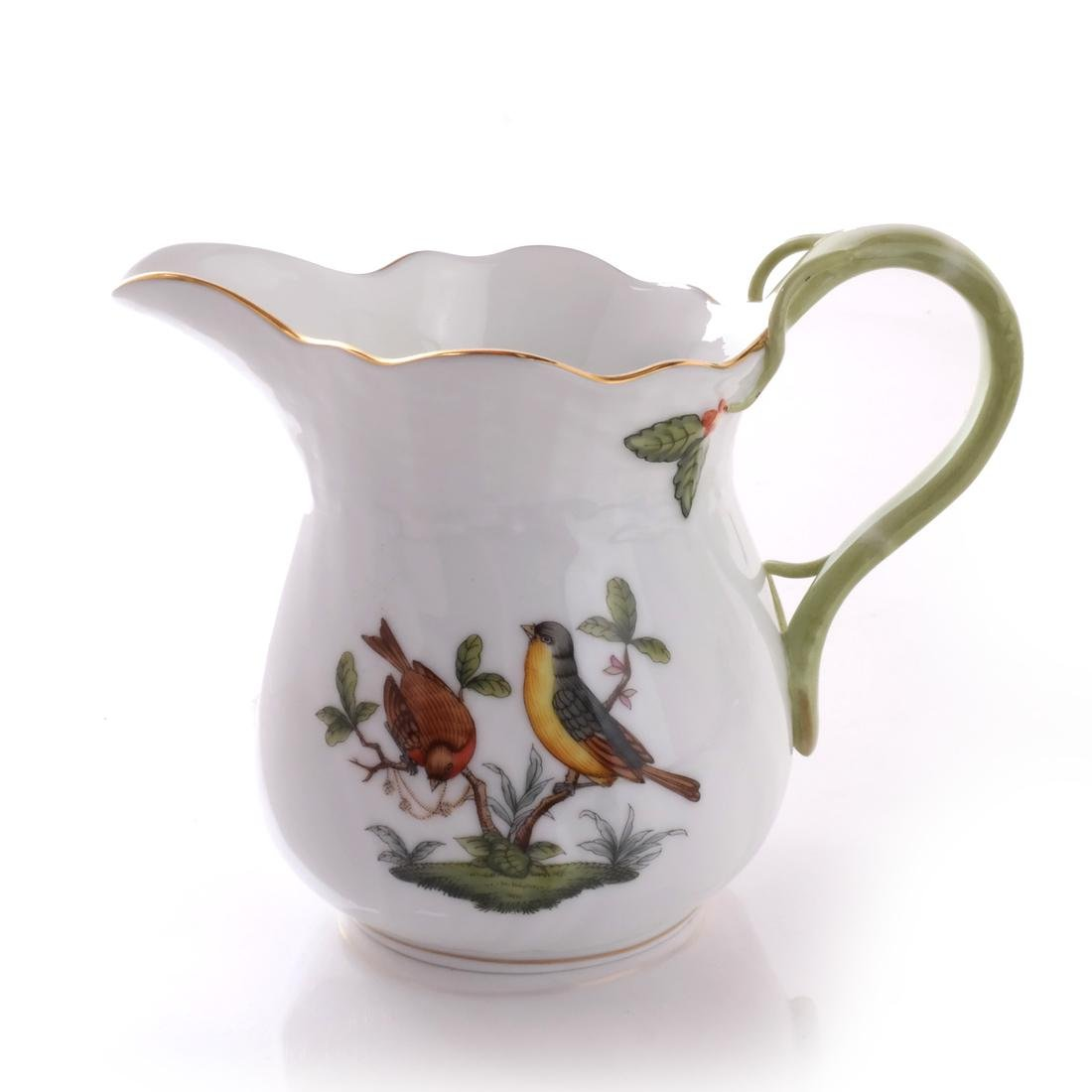 Five Herend Porcelain Tea Articles - 9