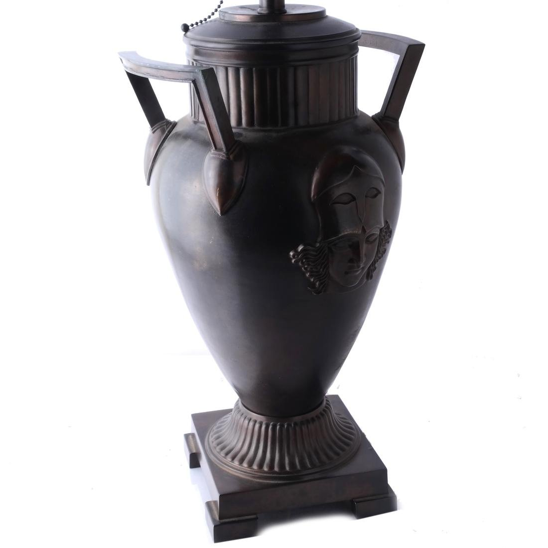 Etruscan-Style Bronze-Clad Table Lamps - 2