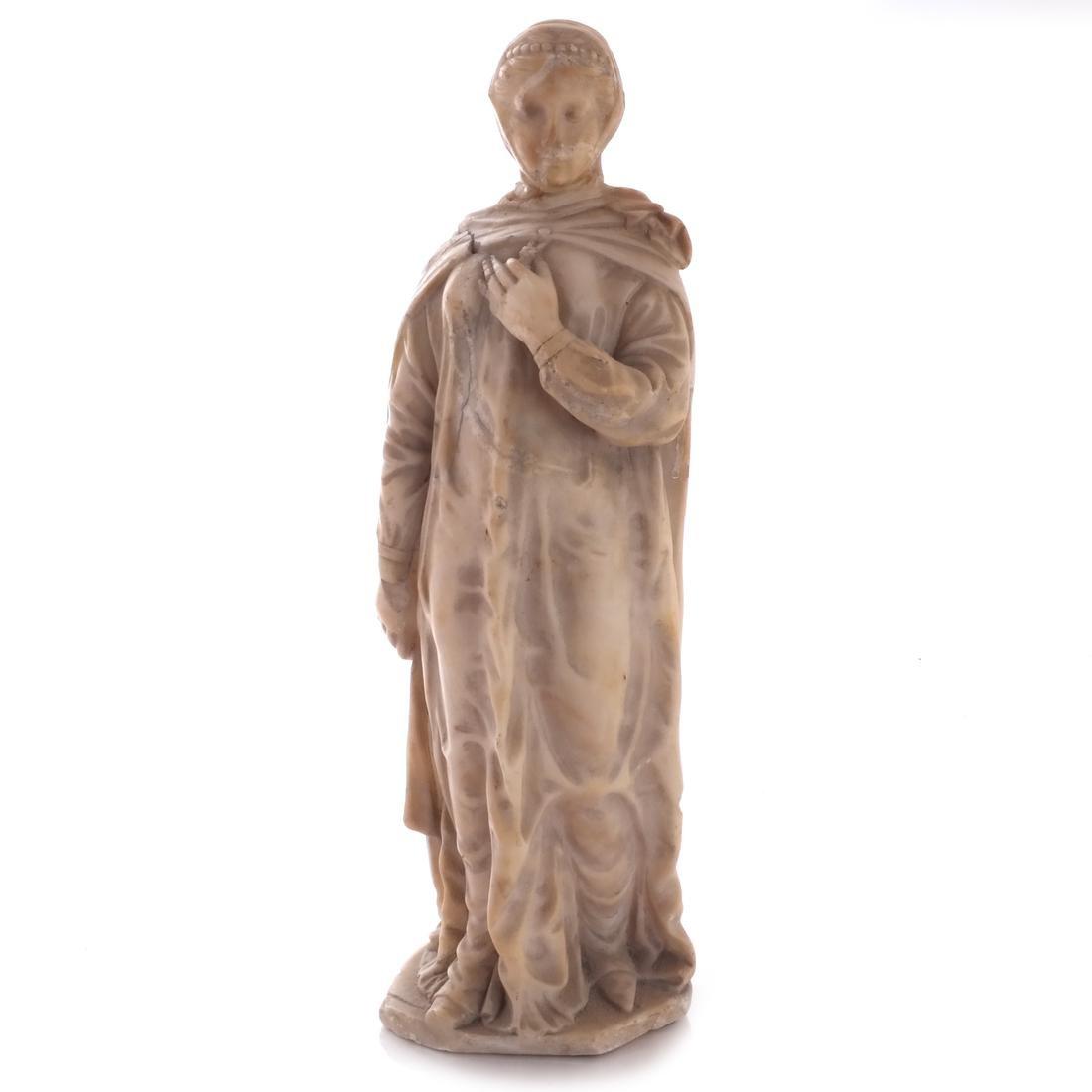 Italian Marble Figure of Beatrice