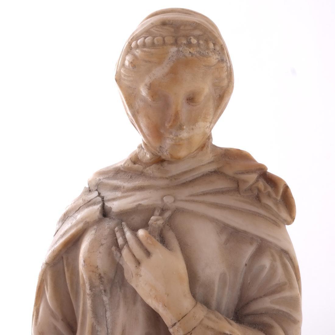 Italian Marble Figure of Beatrice - 2