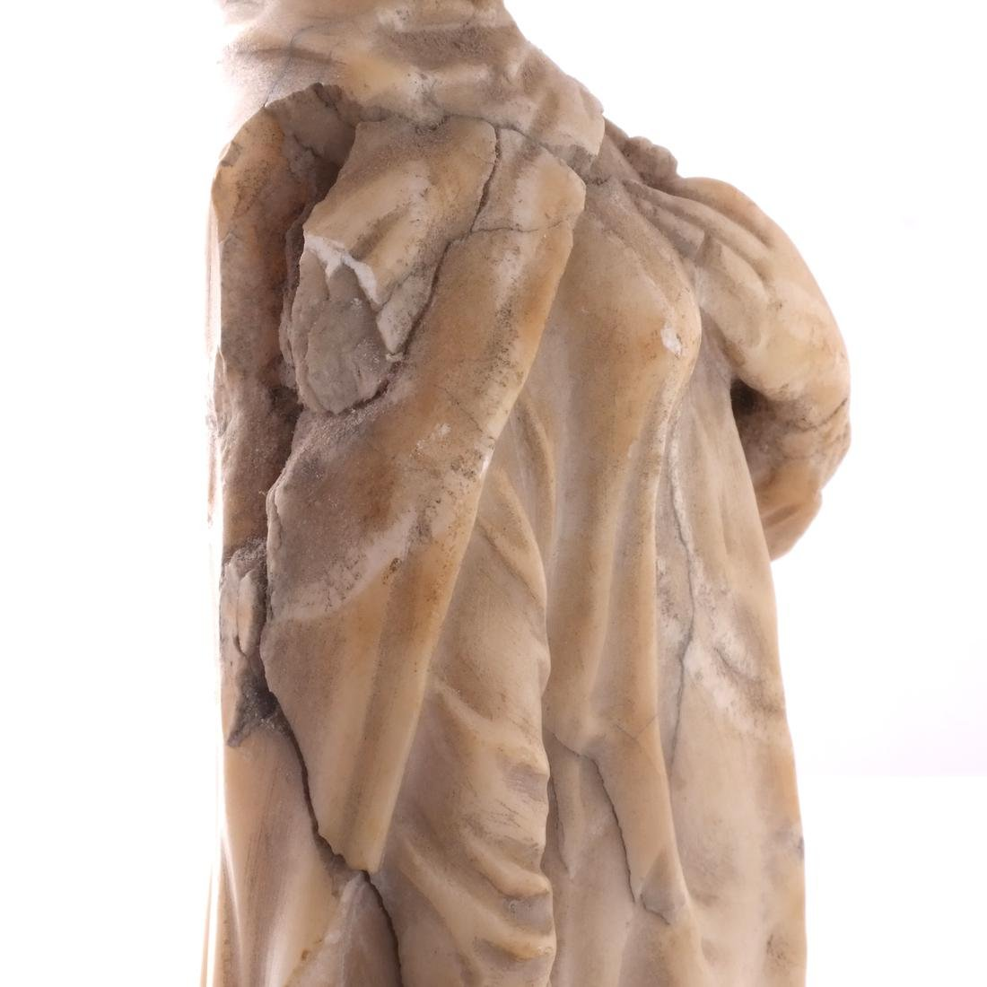 Italian Marble Figure of Beatrice - 3