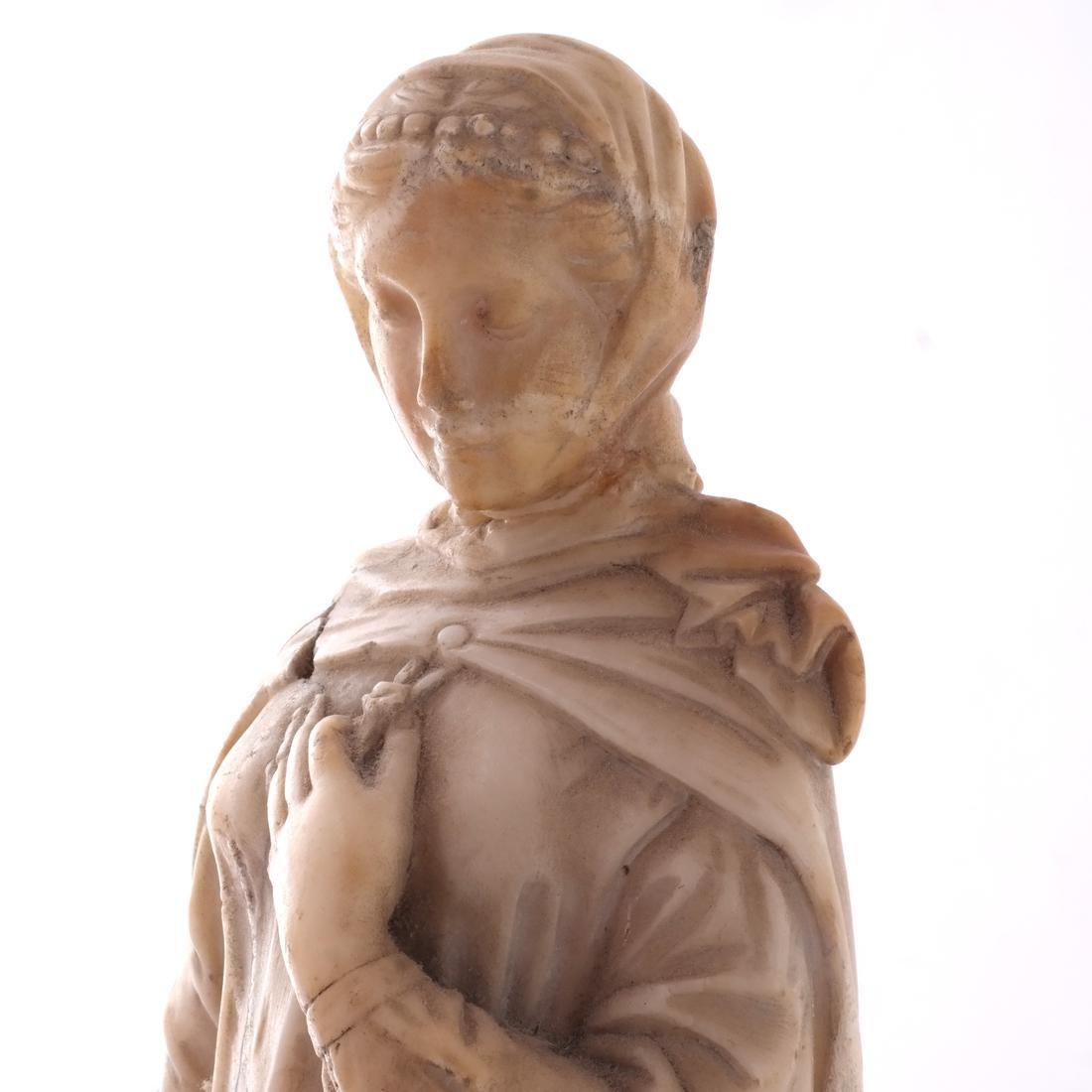 Italian Marble Figure of Beatrice - 5