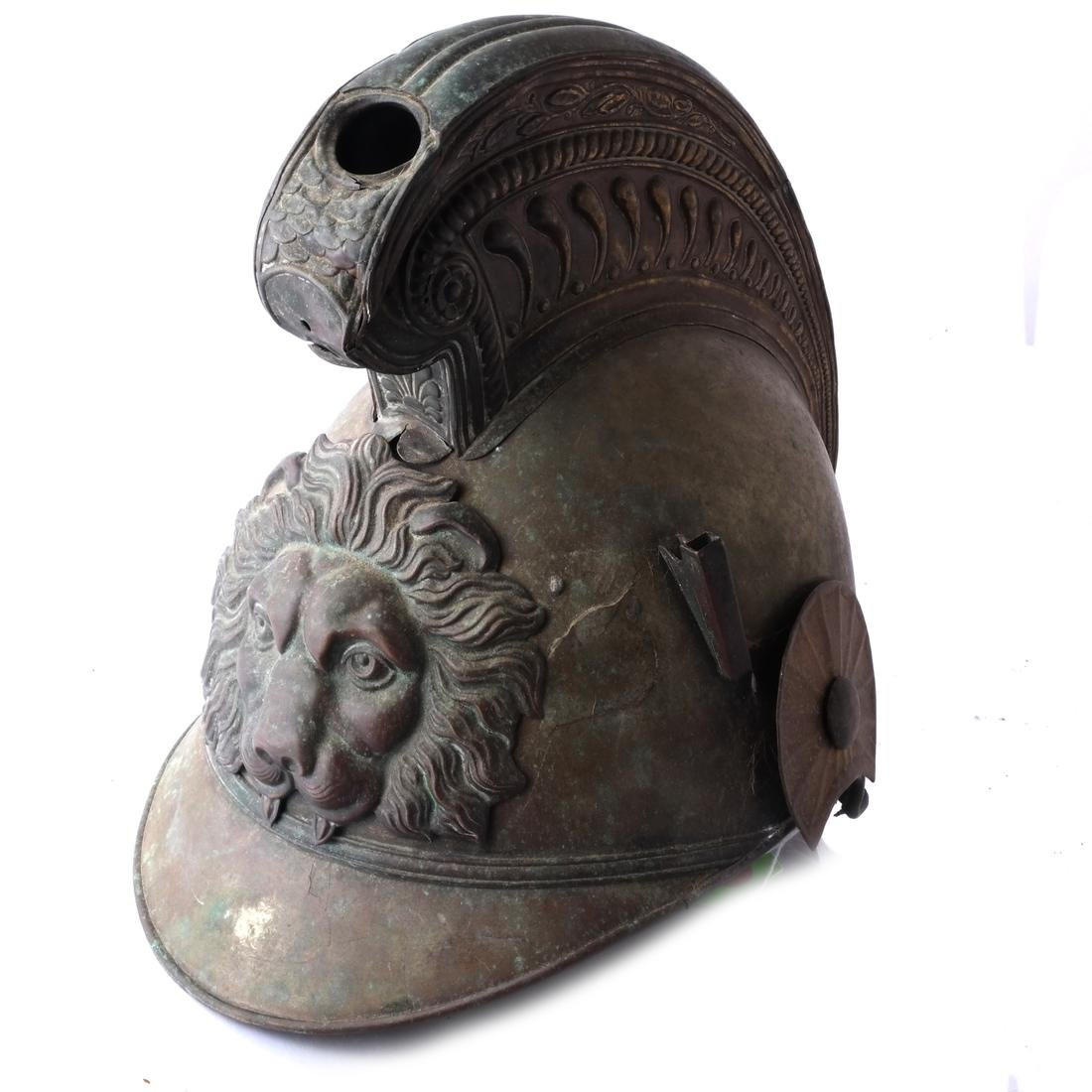Continental Brass War Helmet
