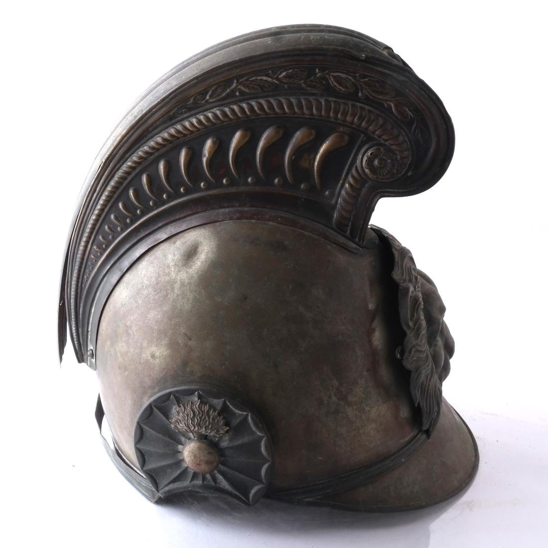 Continental Brass War Helmet - 3