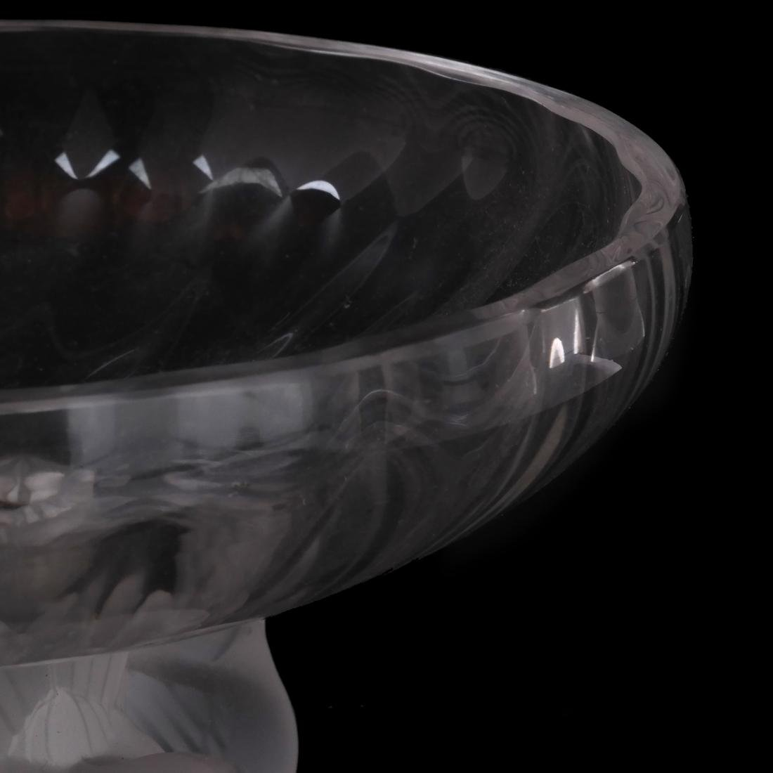 Lalique France Footed Compote - 2