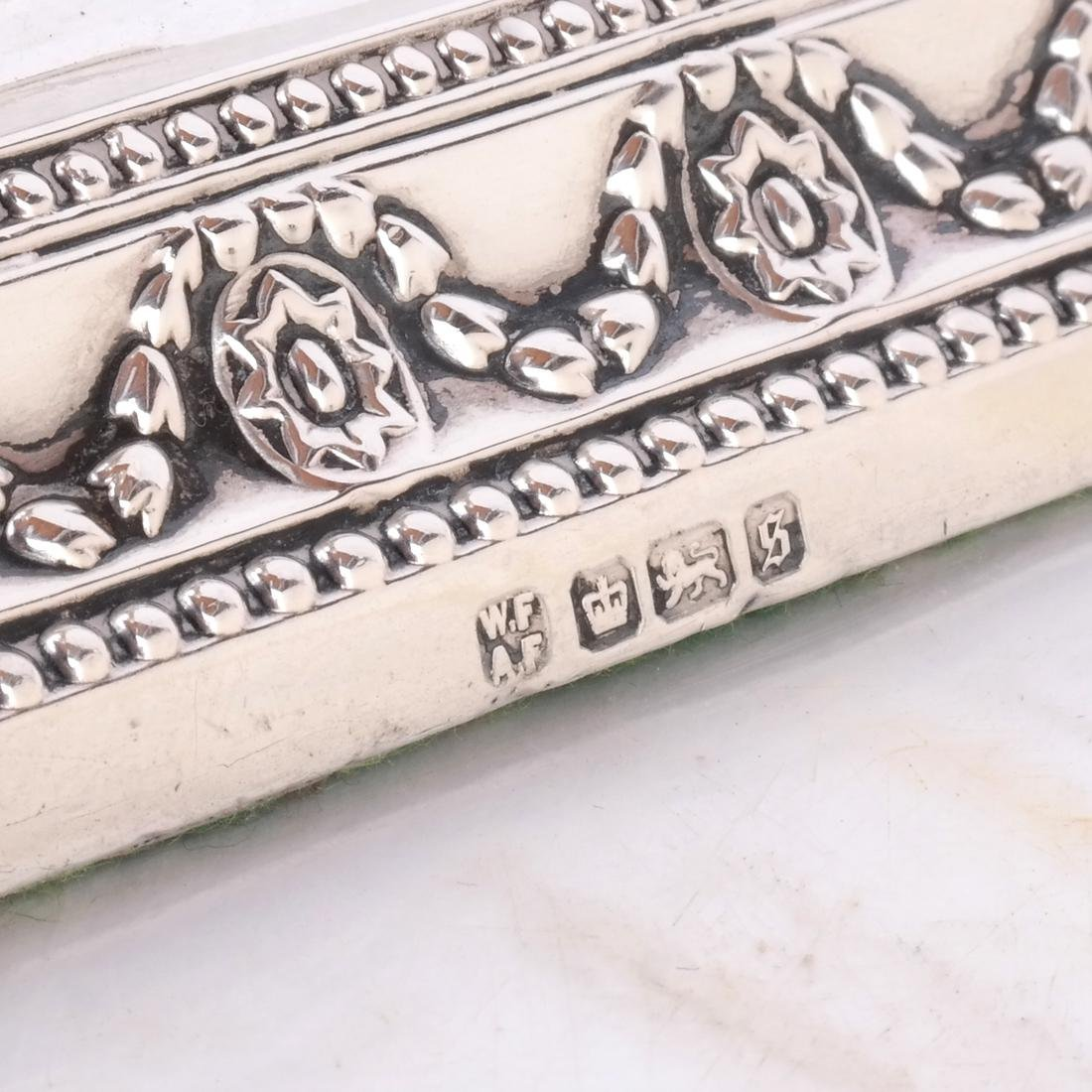 Pair 19th C. Silver Candlesticks - 5