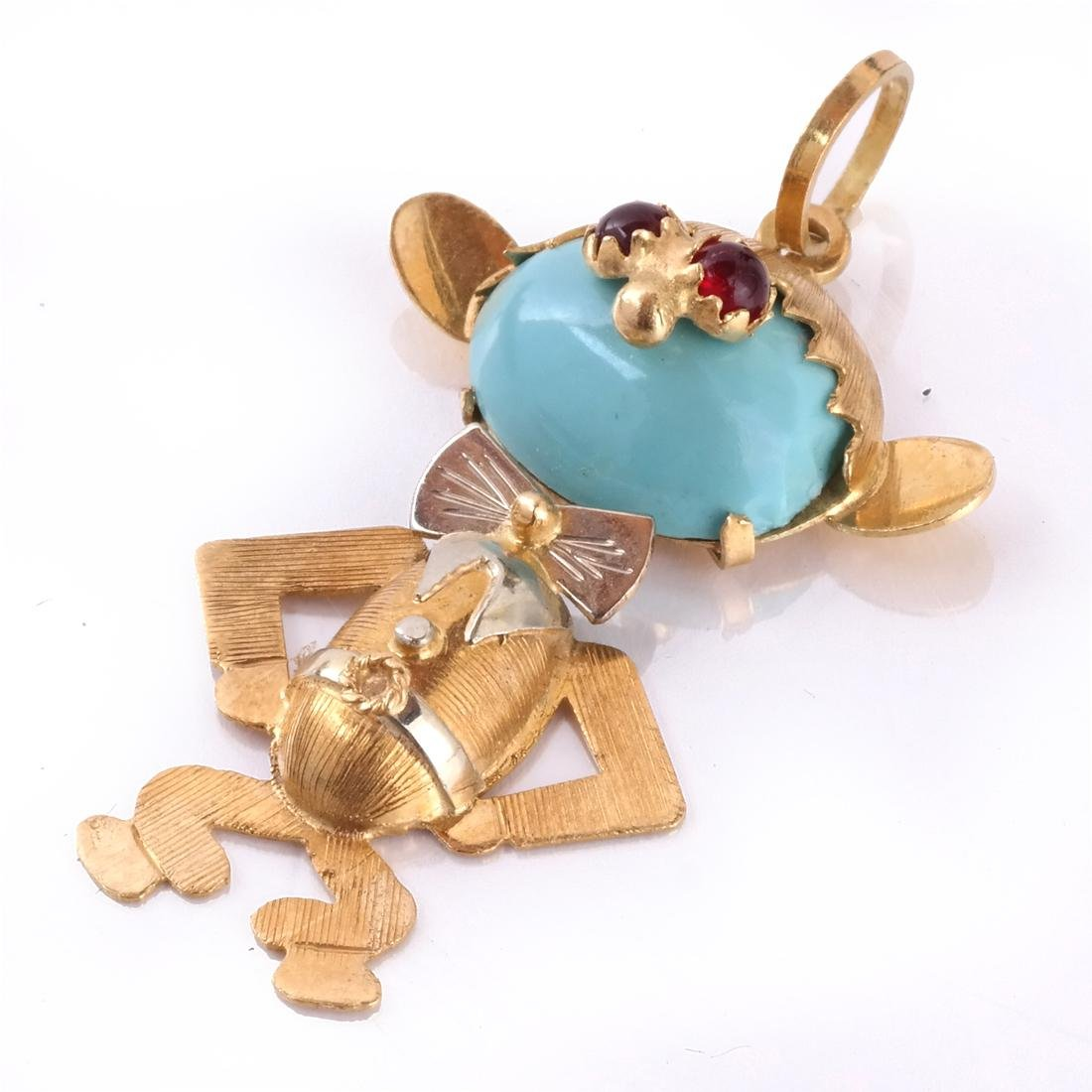 18k Charms, Lot of 2 - 2