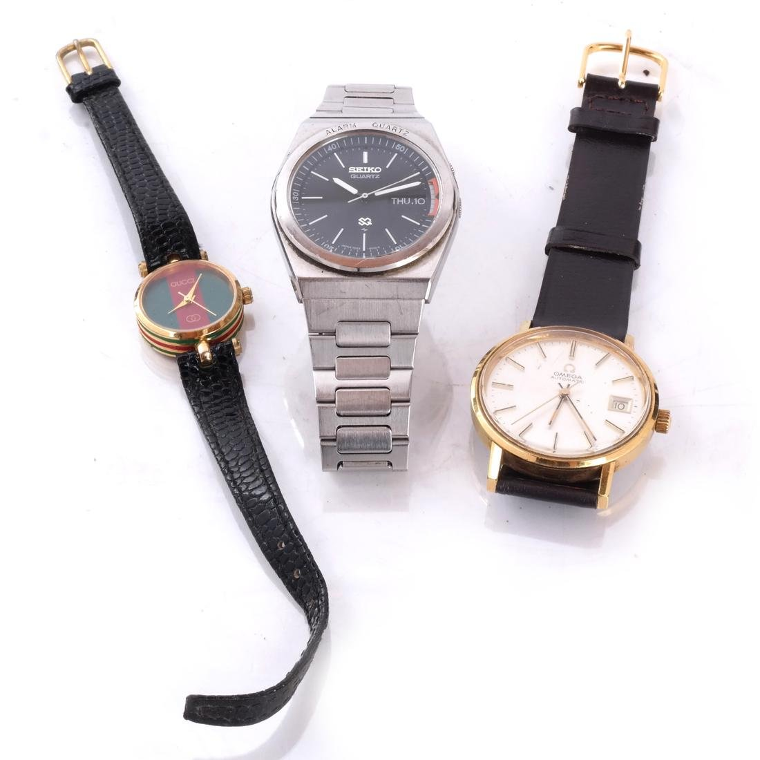 88825de2b Seiko, Omega & Gucci Quartz Watches - Nov 17, 2018 | Roland NY in NY