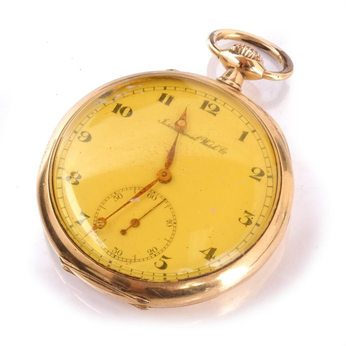18k International Pocket Watch
