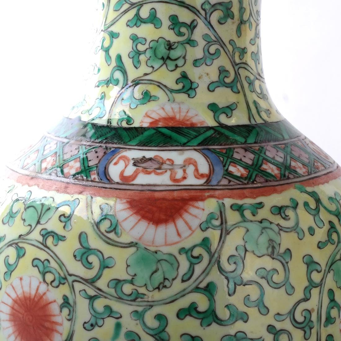 Chinese Porcelain Pair of Table Lamps - 2
