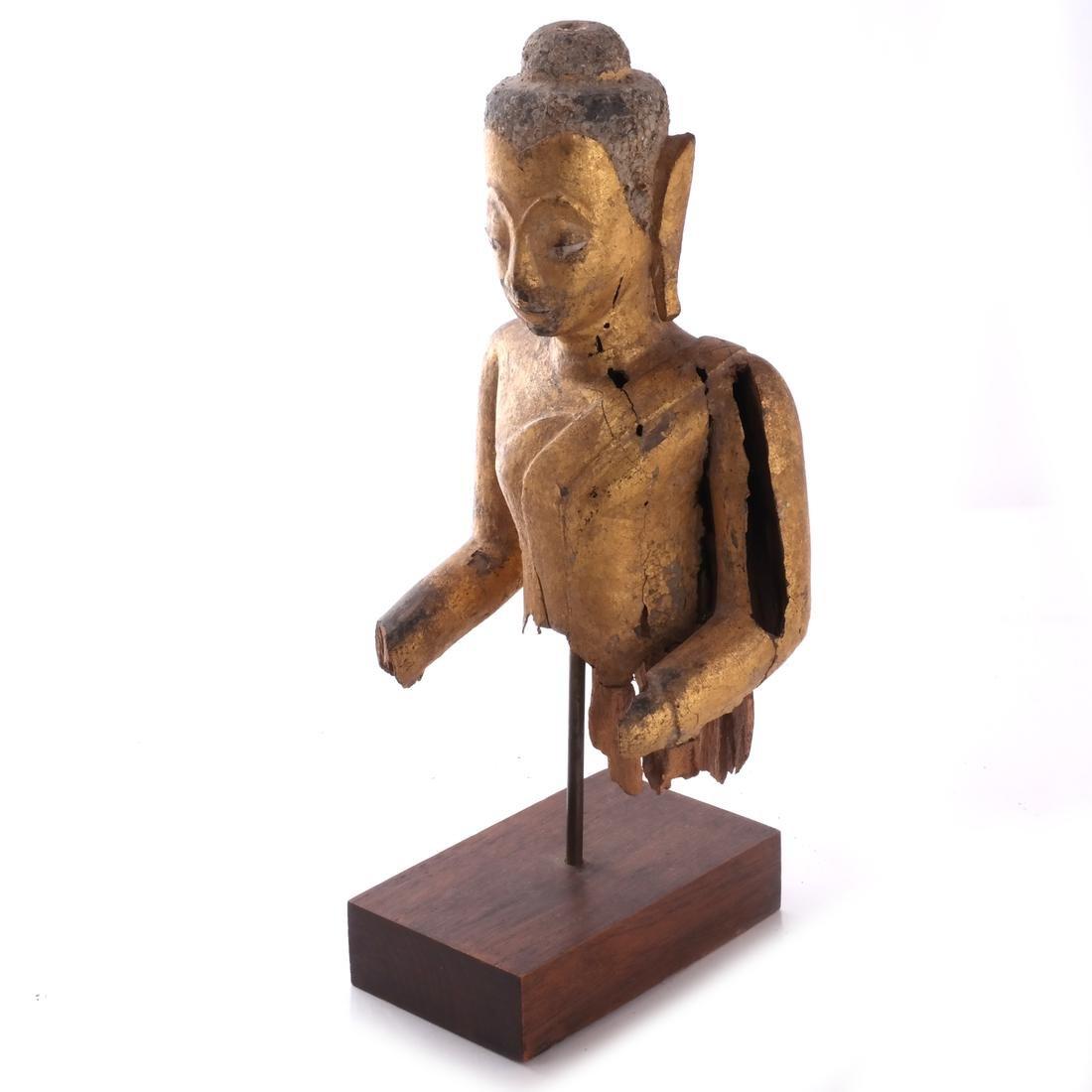 Indo-Chinese Khmer-Type Buddha