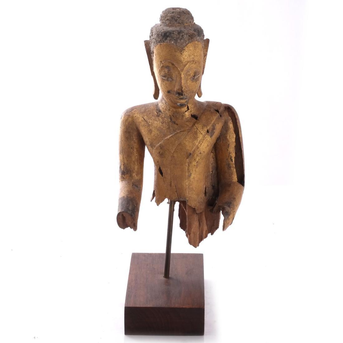 Indo-Chinese Khmer-Type Buddha - 2
