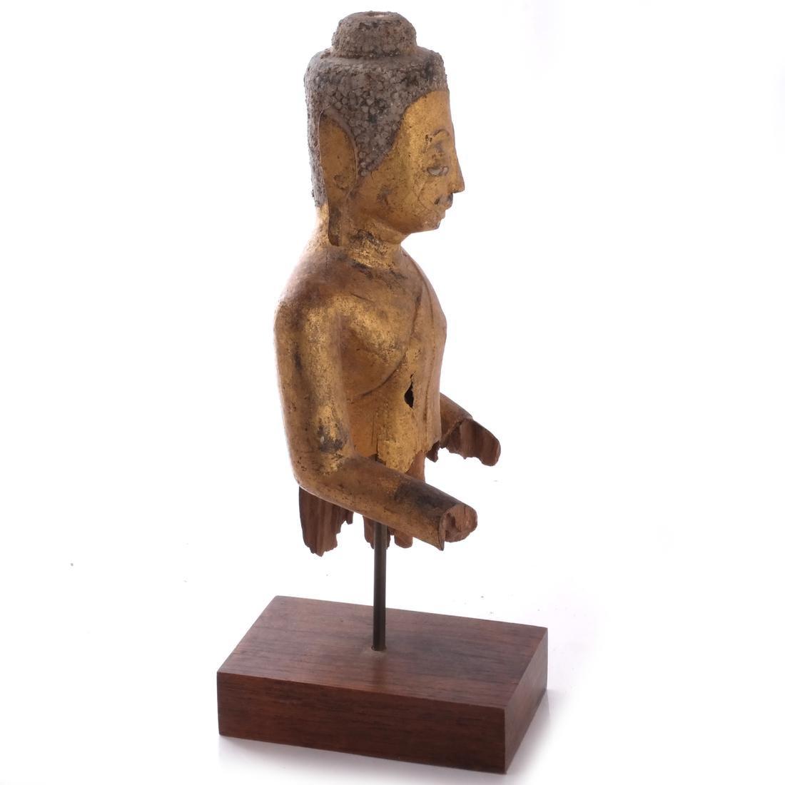 Indo-Chinese Khmer-Type Buddha - 3
