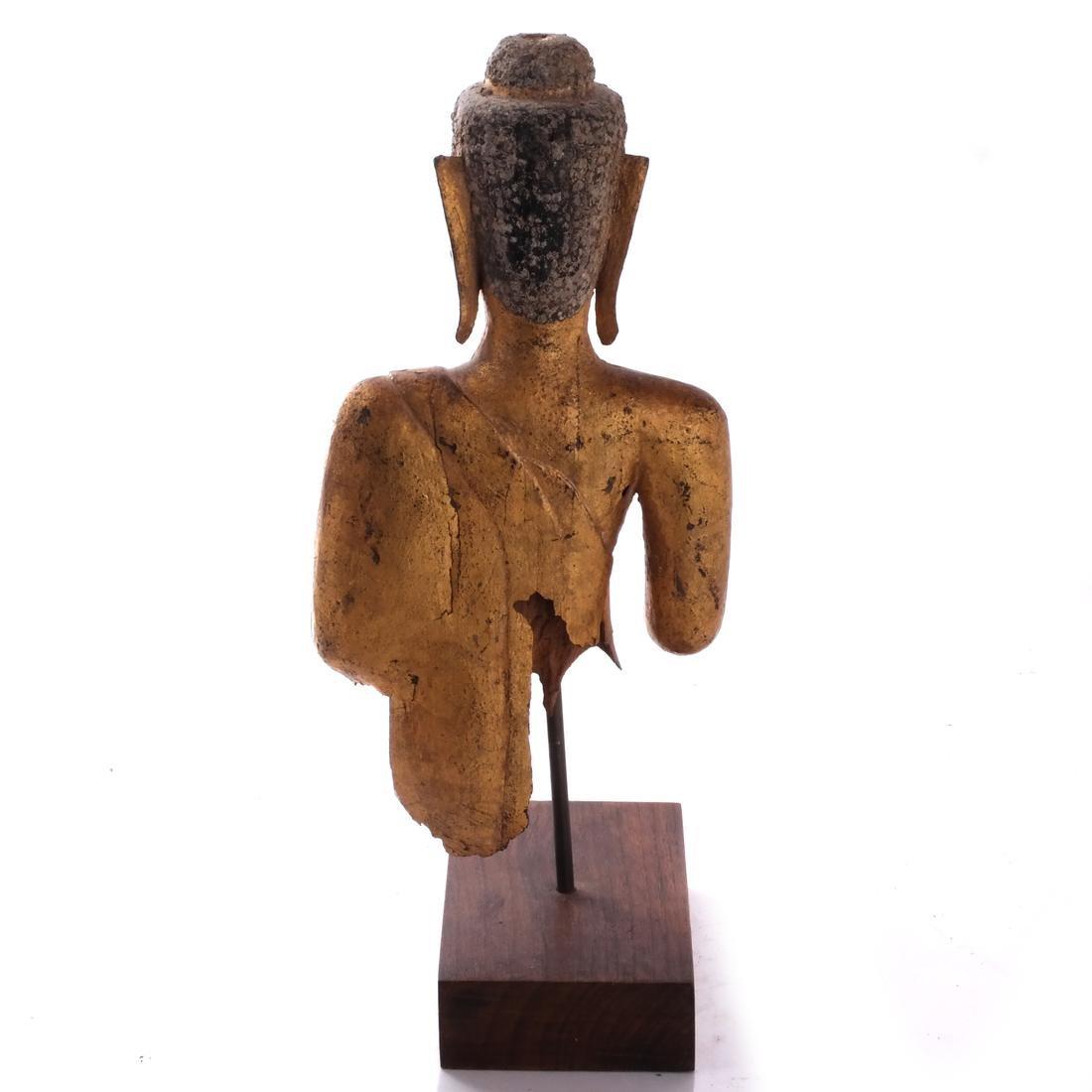 Indo-Chinese Khmer-Type Buddha - 5