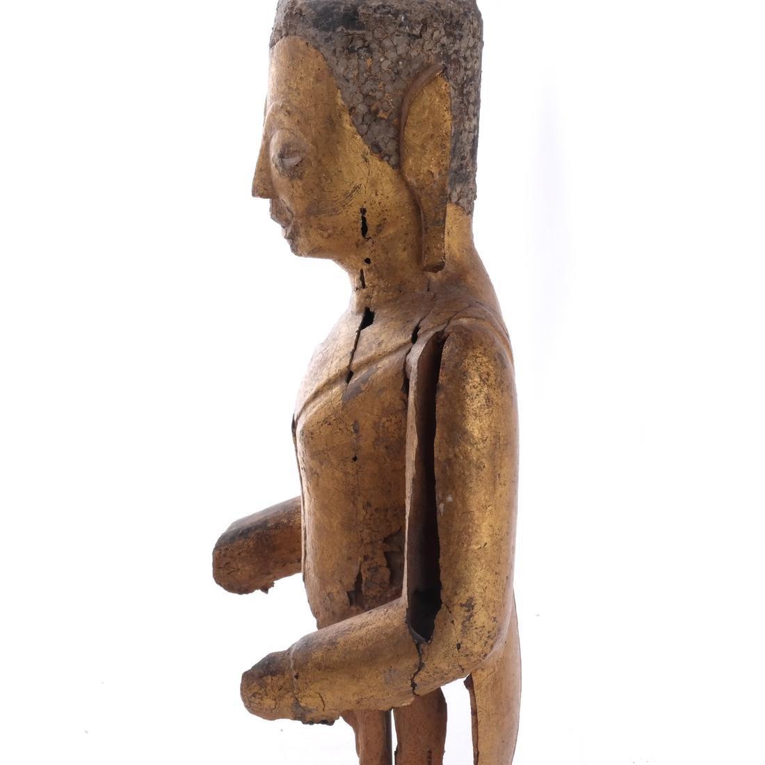 Indo-Chinese Khmer-Type Buddha - 6