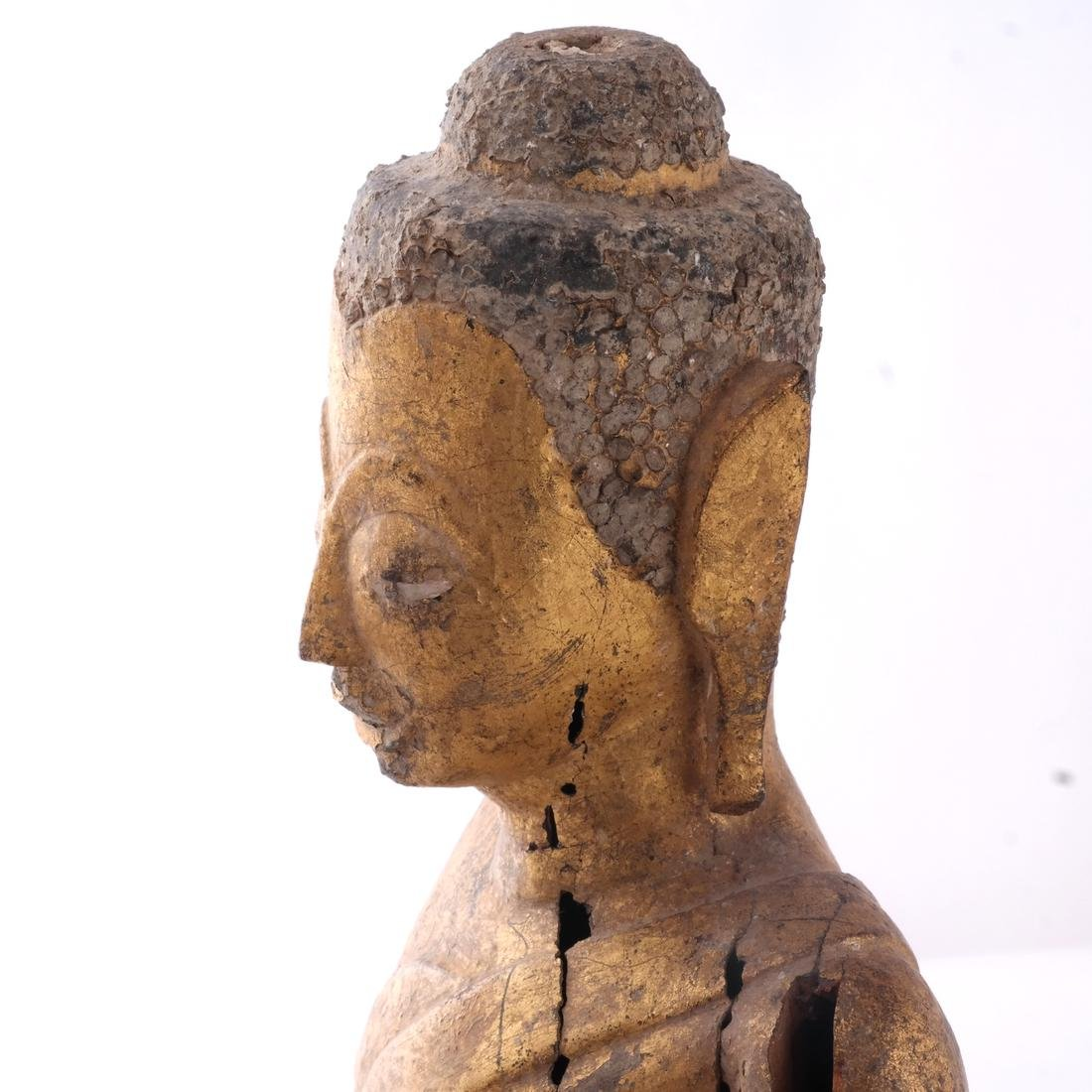 Indo-Chinese Khmer-Type Buddha - 7