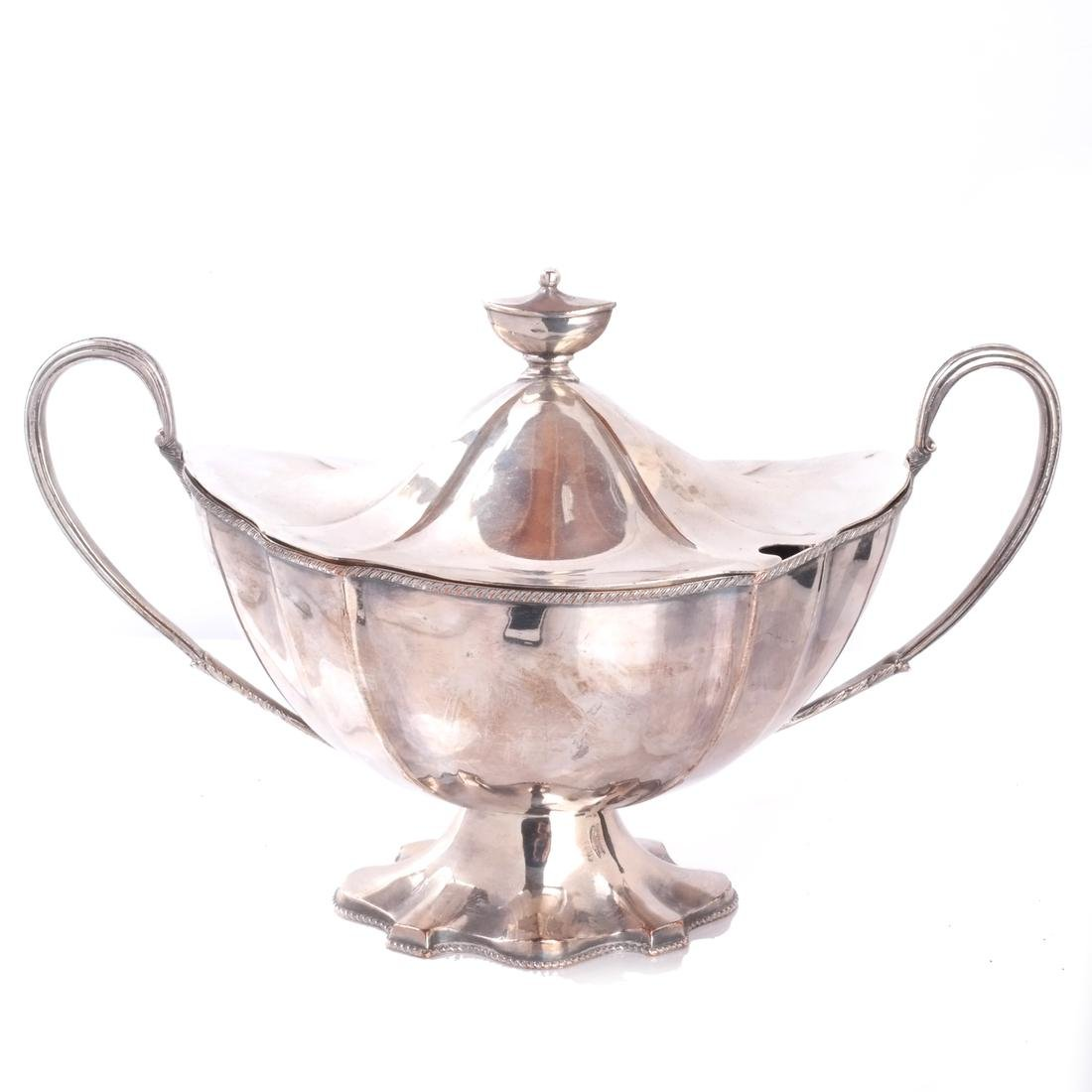 Silver Plate Soup Tureen & Cover