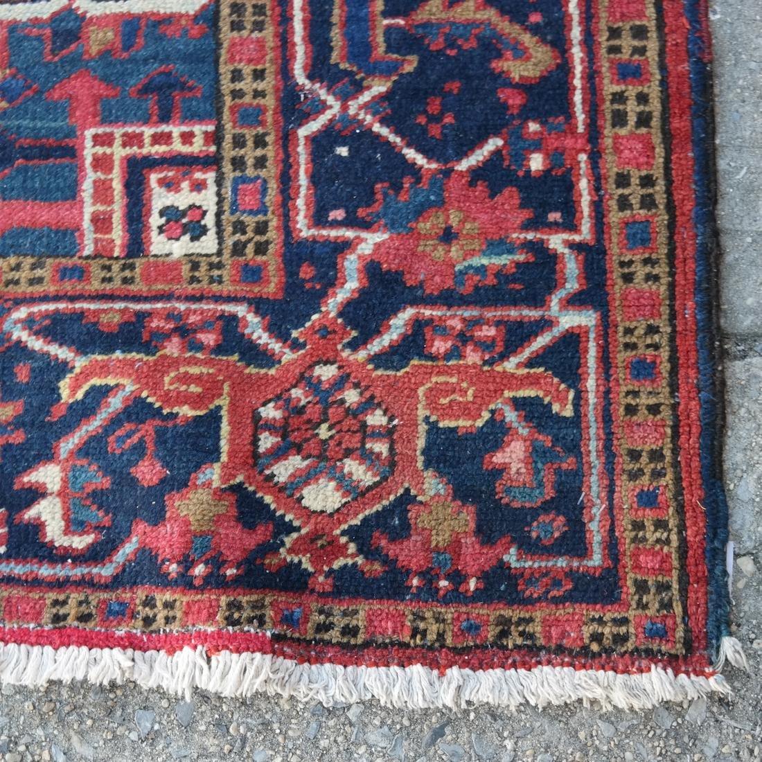 Antique Iranian Heriz Carpet, 9 x 12 - 2