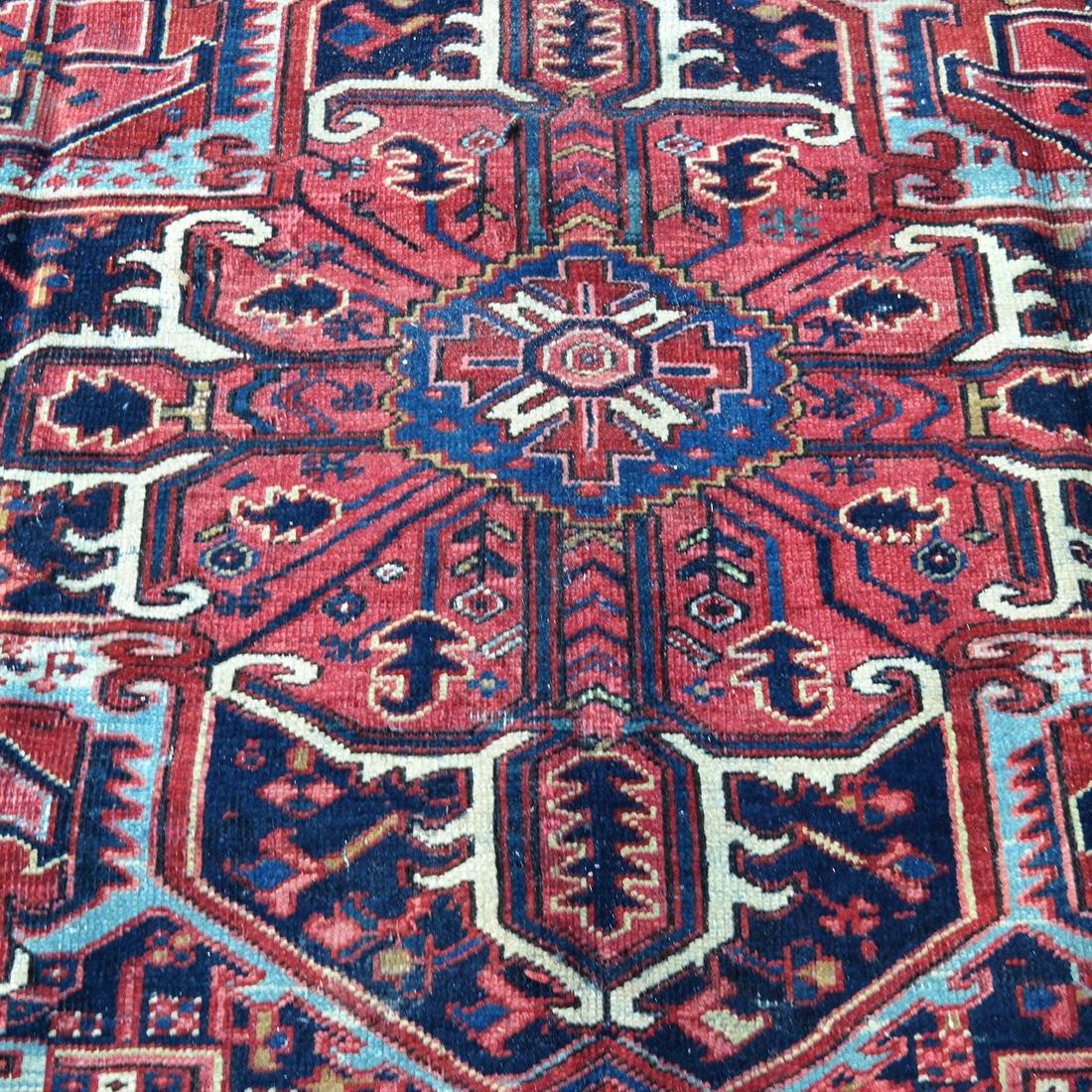 Antique Iranian Heriz Carpet, 9 x 12 - 4